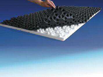 Fußbodenheizungsplatten
